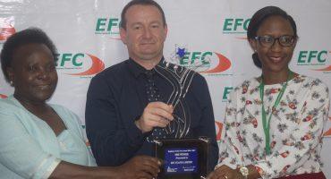EFC Uganda Voted Best SME – Employer of the Year 2016/2017