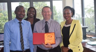 EFC marks five years in Uganda
